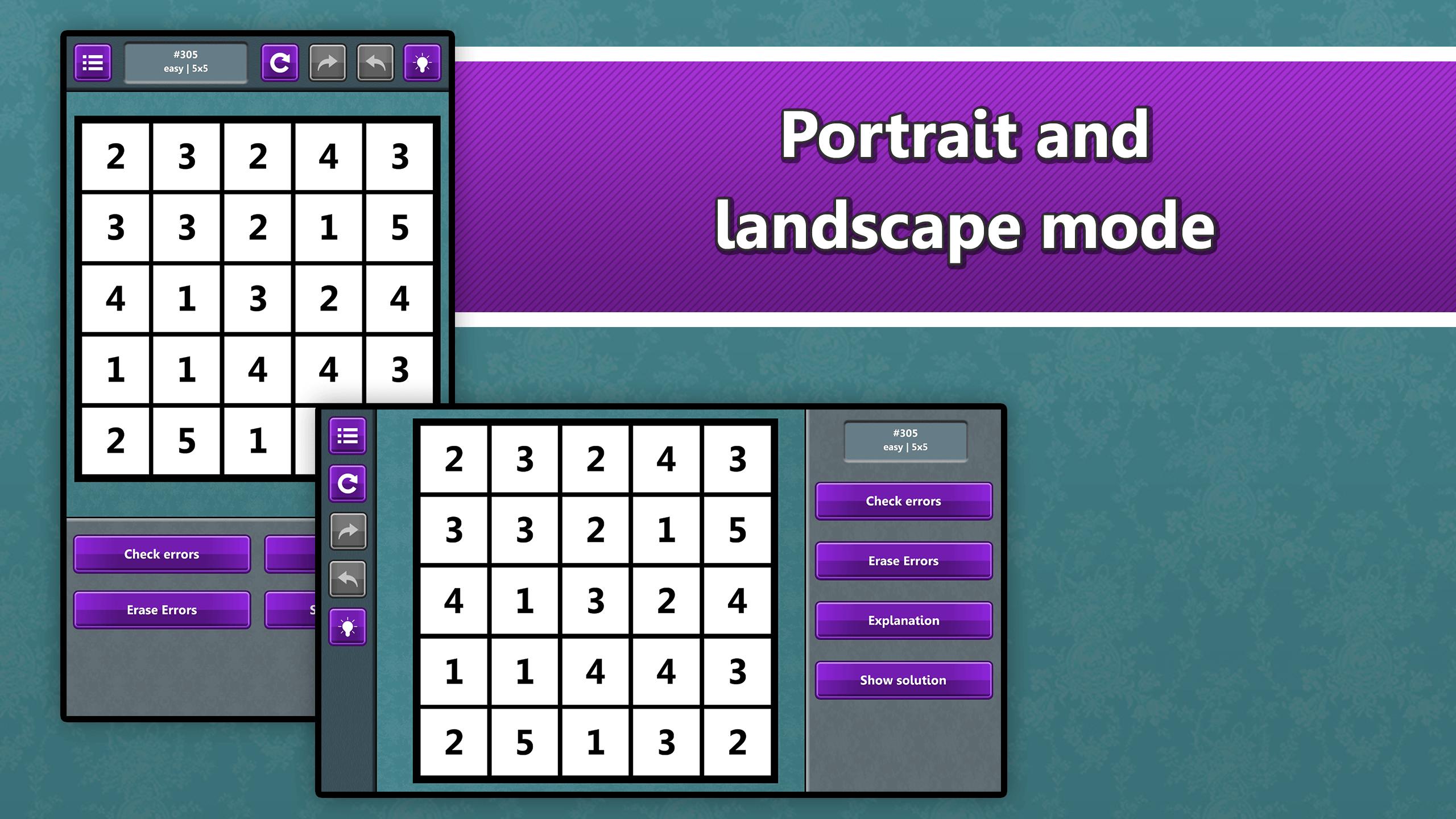 LogiBrain Hitori screenshot 5