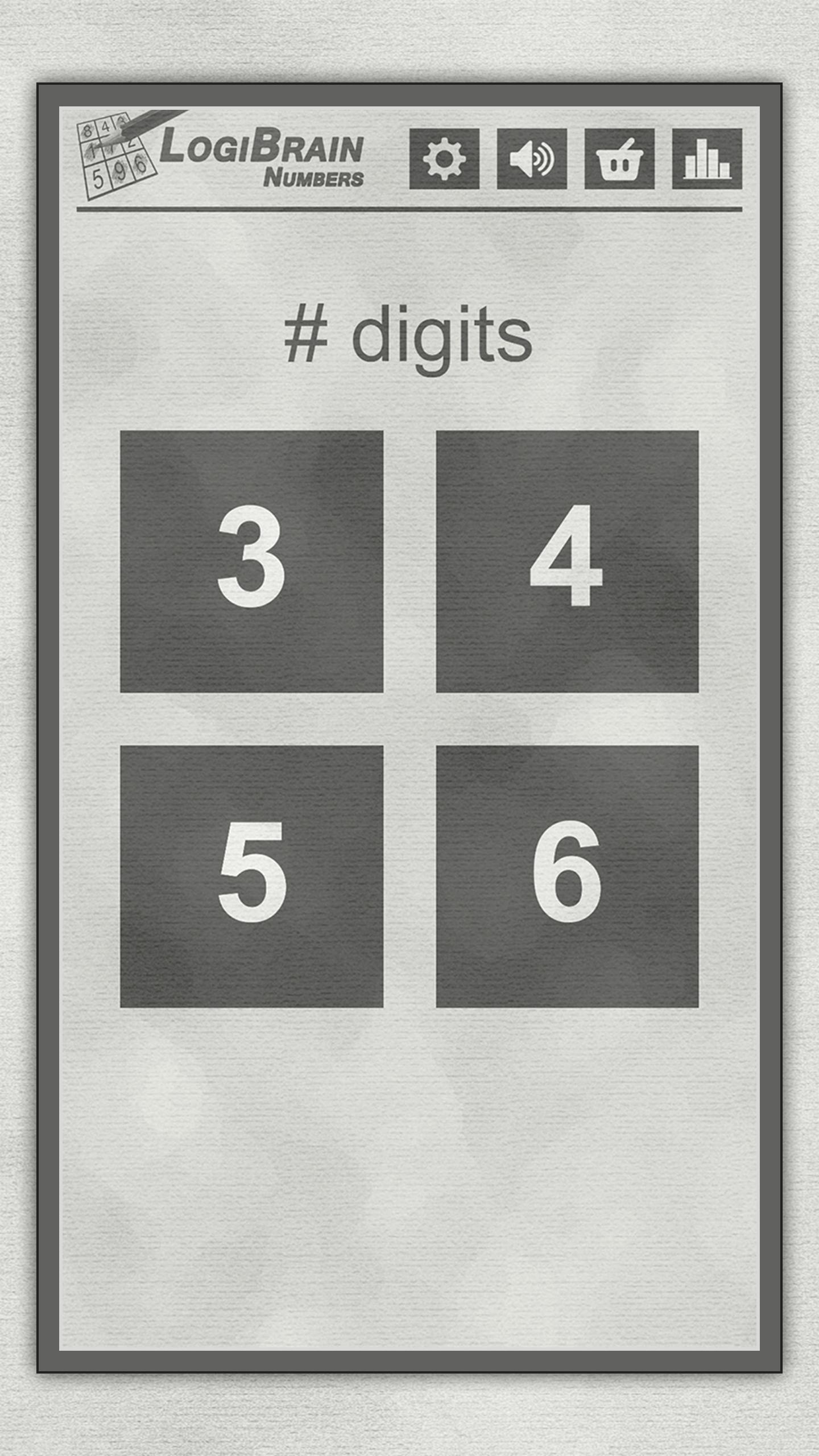 LogiBrain Numbers screenshot 1