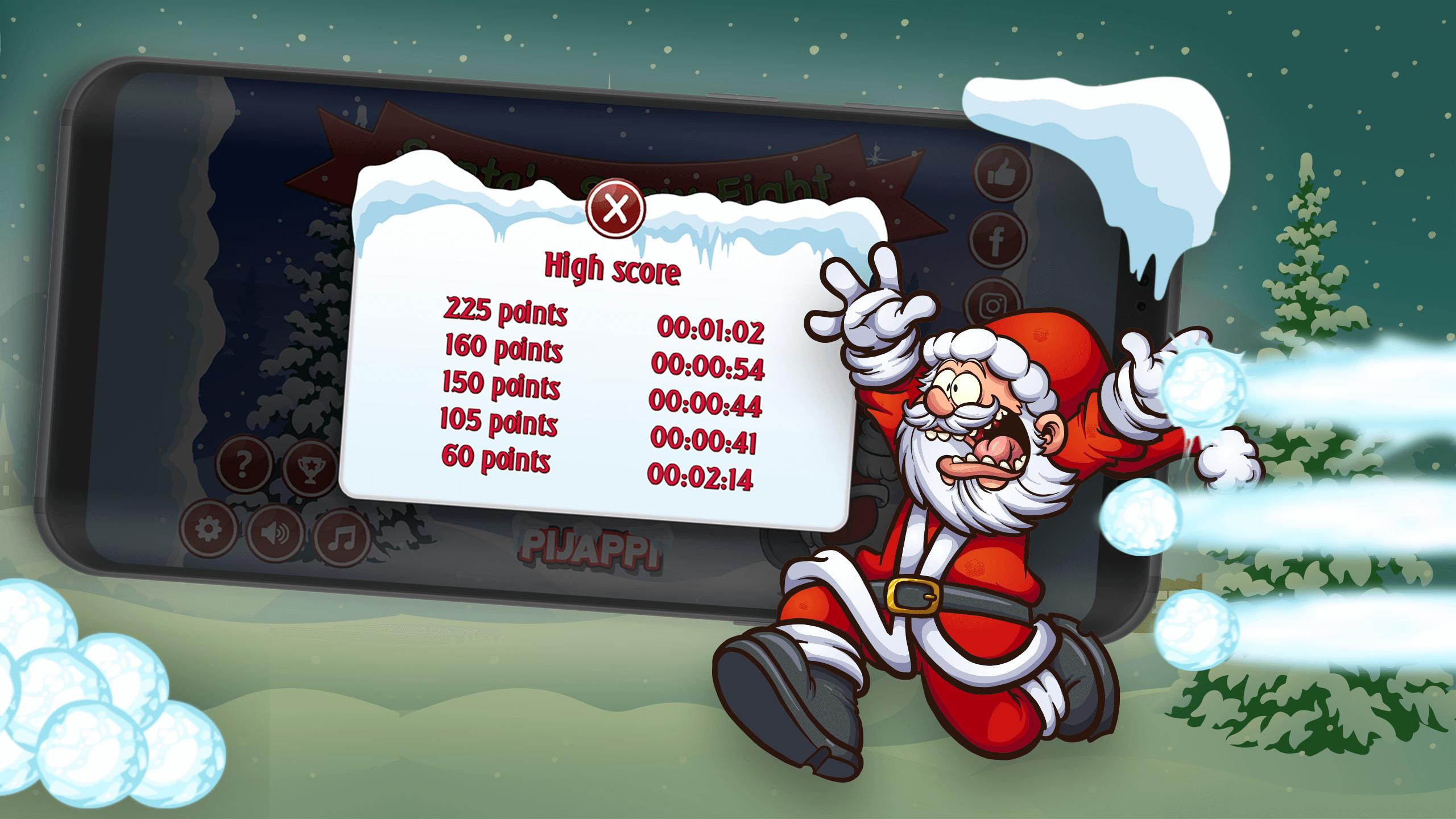 Santa's Snow Fight screenshot 3