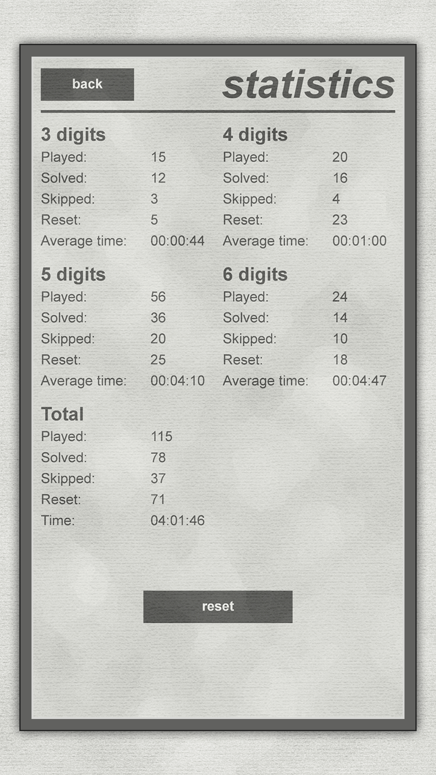 LogiBrain Numbers screenshot 5