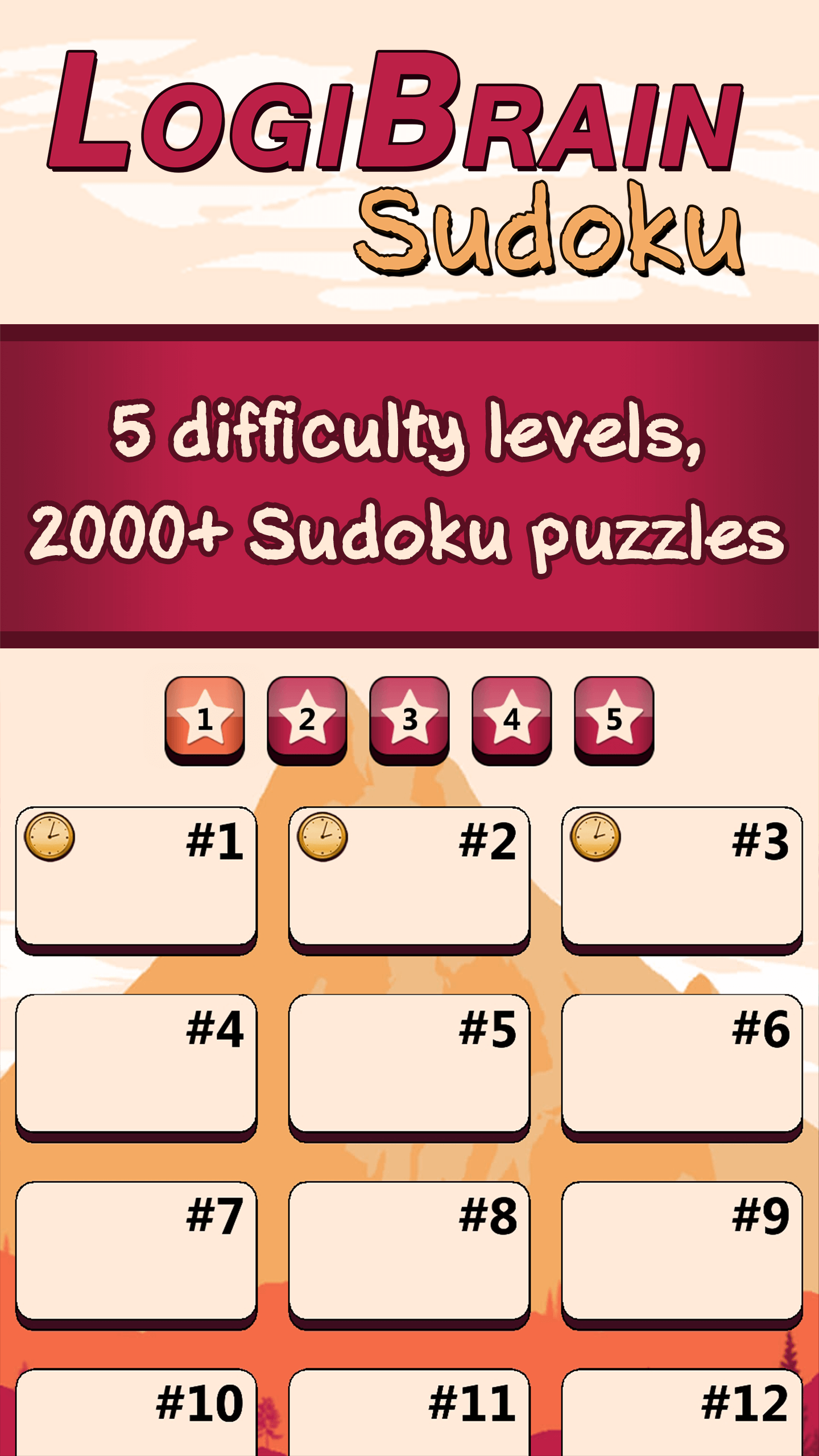 LogiBrain Sudoku screenshot 1